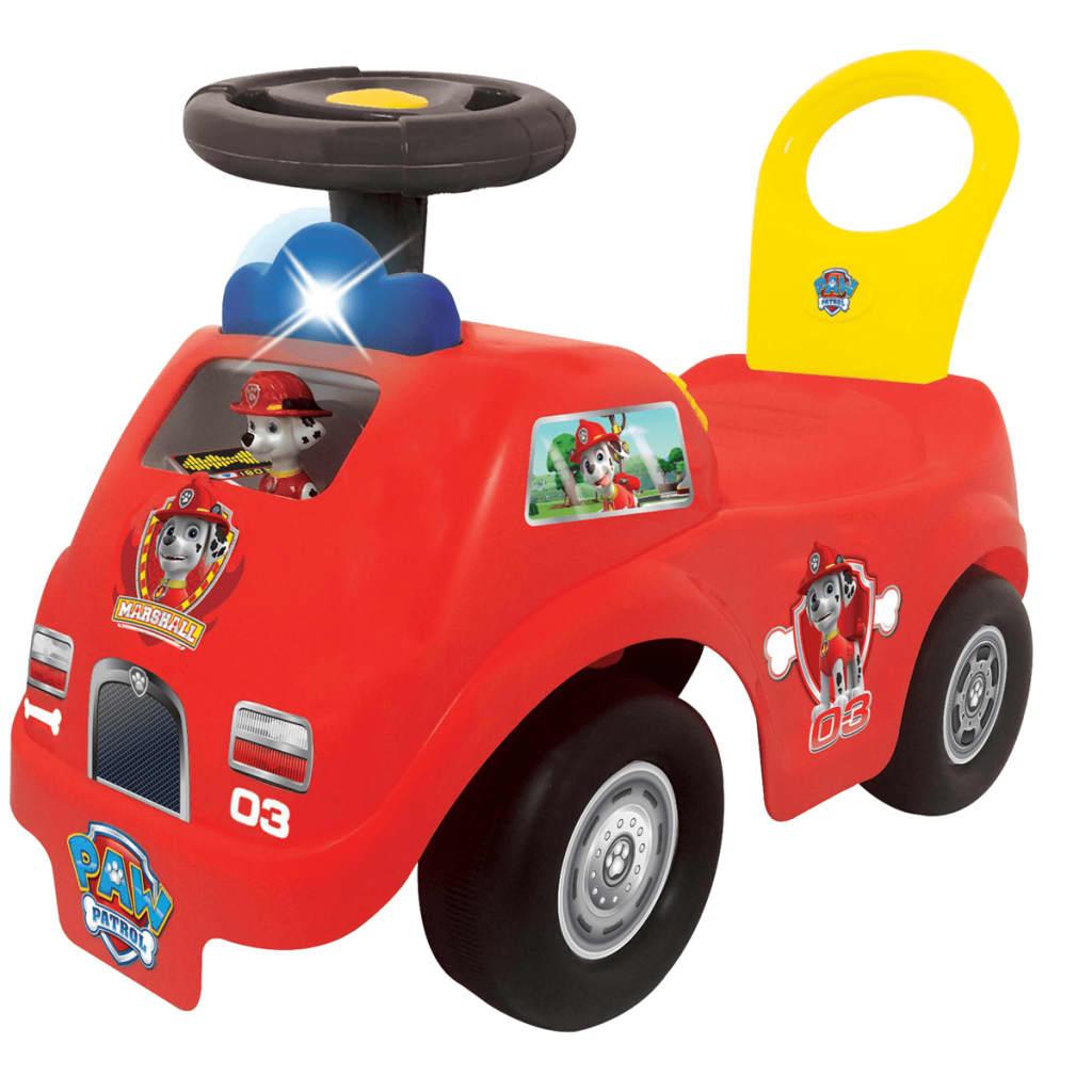 Kiddieland Paw Patrol Marshall brandweerauto loopwagen 54247 thumbnail