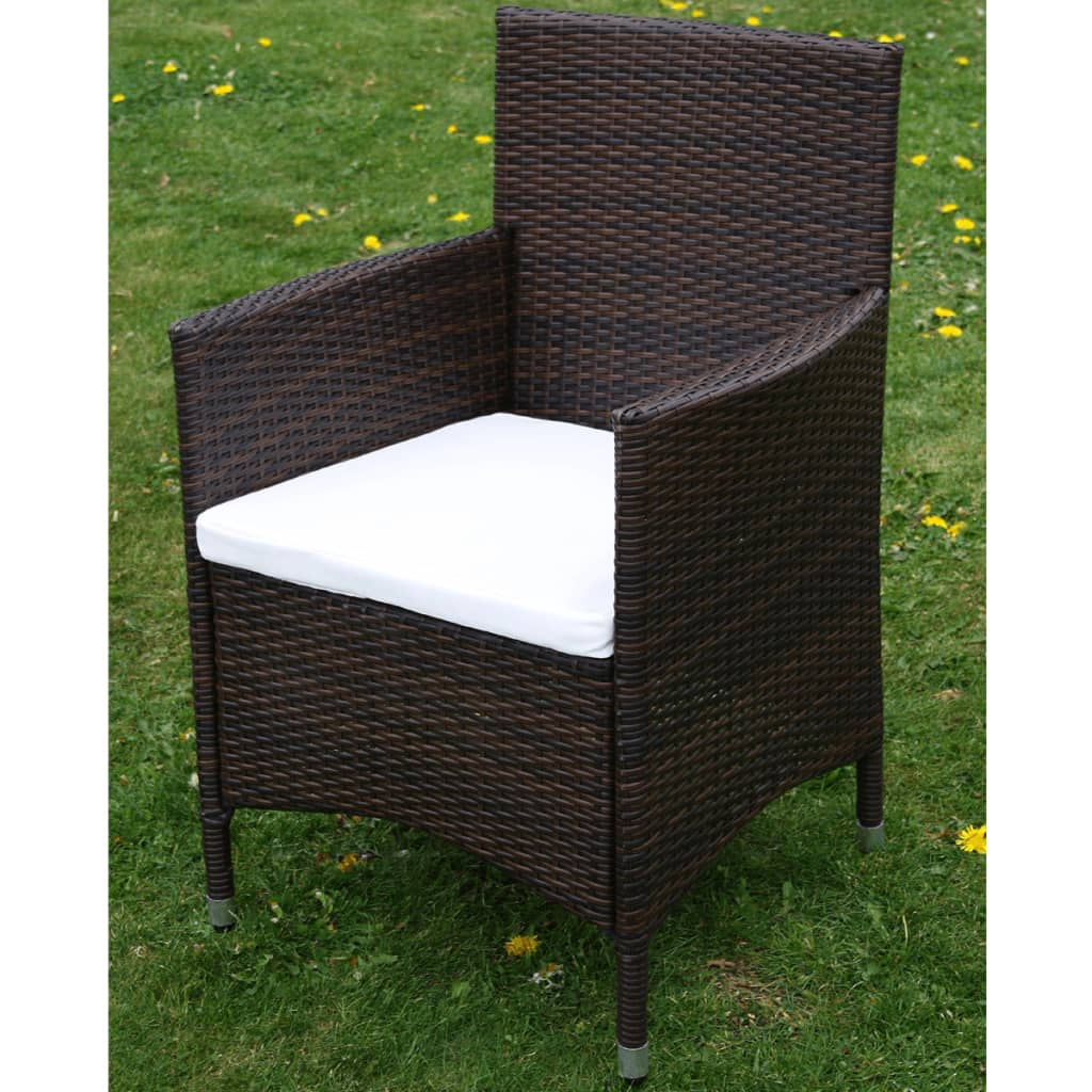 der poly rattan gartenm bel 4s t braun online shop. Black Bedroom Furniture Sets. Home Design Ideas