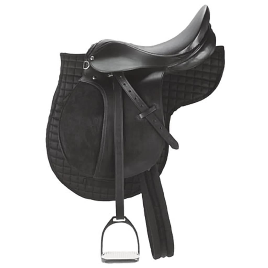 acheter kerbl selle de poney en cuir noir 32196 pas cher