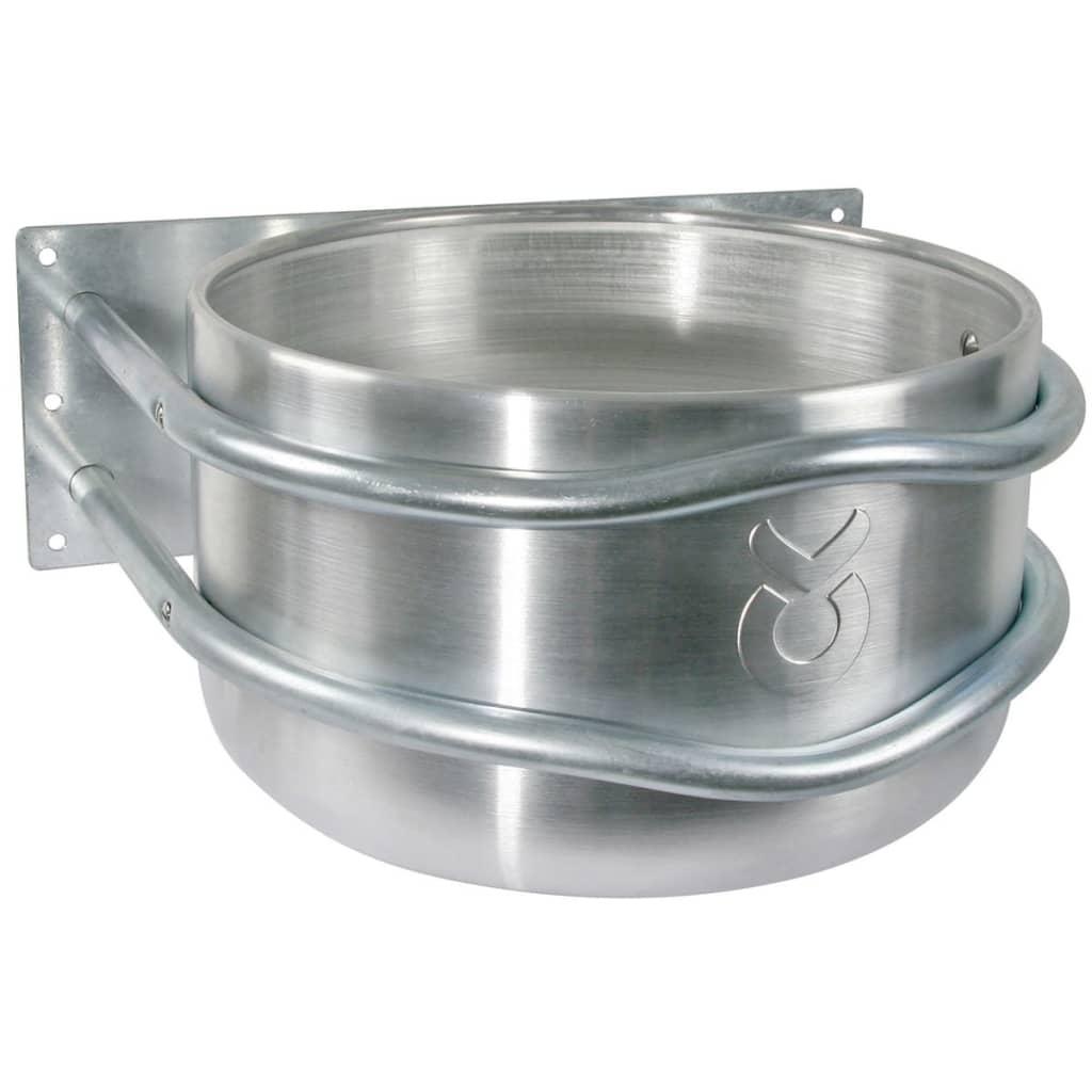Afbeelding van Kerbl Voerbak 18 L aluminium zilver