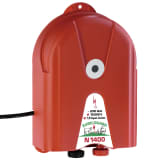 """Kerbl Trasmettitore Elettrico Recinto """"N 1400"""" Plastica rosso 44138"""