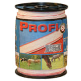 Kerbl Fencing Tape Profi 200 m 20 mm White-red TriC 59501