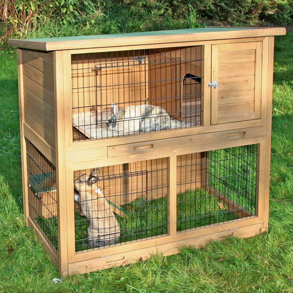 Kerbl casa per roditori la vita duo in legno for Case in legno lettonia