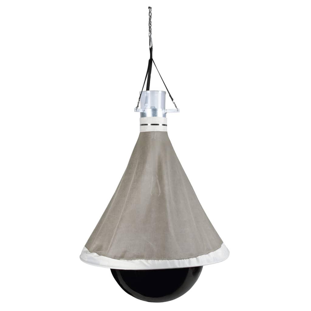 Kerbl TaonX galvanizált vas bögöly csapda fekete és fehér