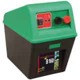 Kerbl strømforsyning til elektrisk hegn Farm Patrol B 160 sort/grøn 363500