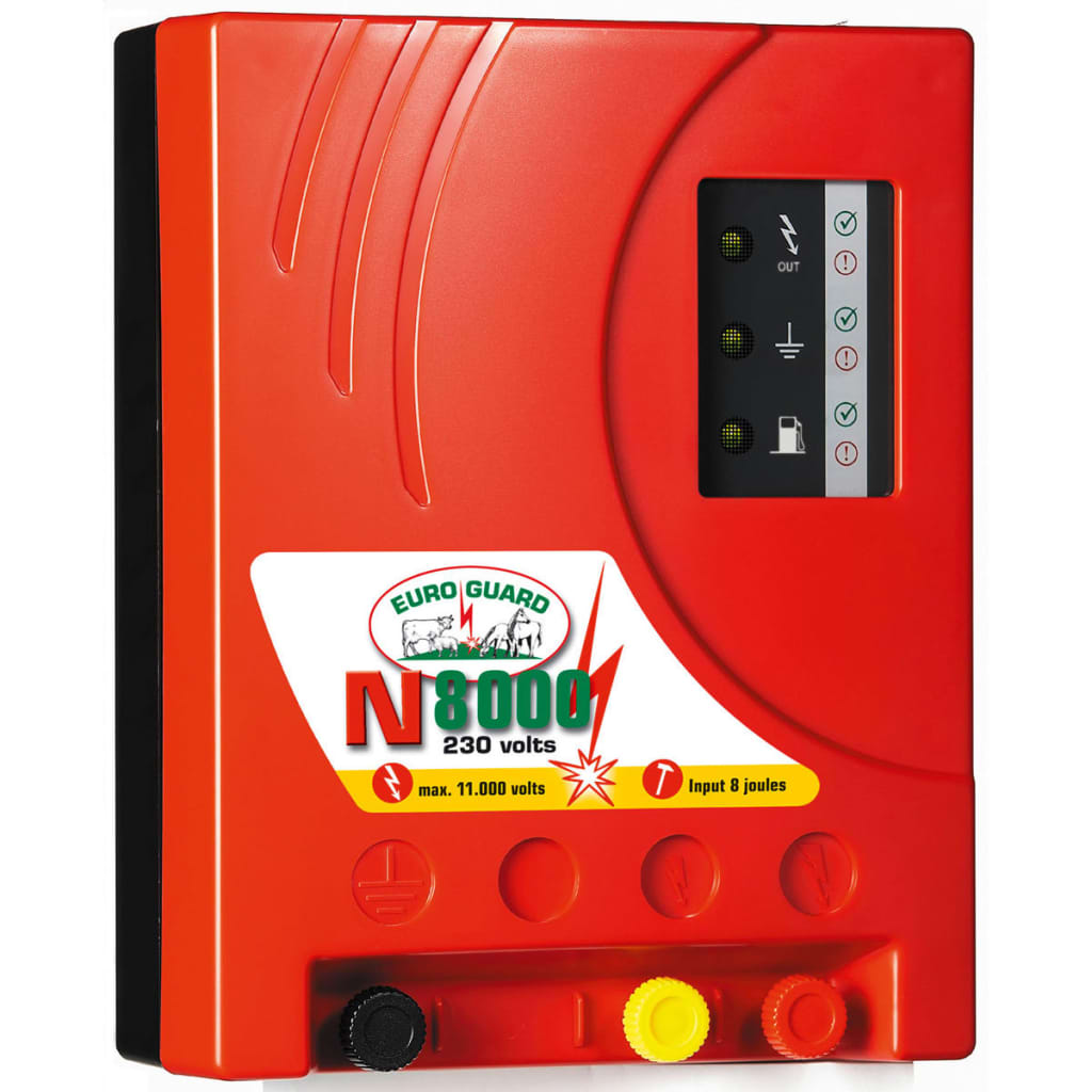 """Afbeelding van Kerbl Electric Hence Energiser \""""Euro Guard N 8000\"""" Red 392080"""