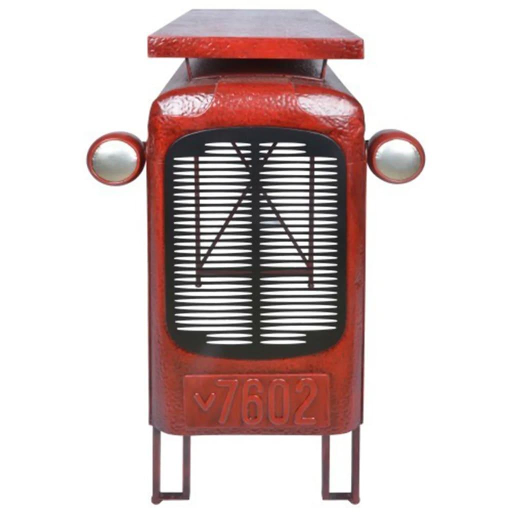 La boutique en ligne table tracteur rouge ih033 esschert for Table de jardin rouge
