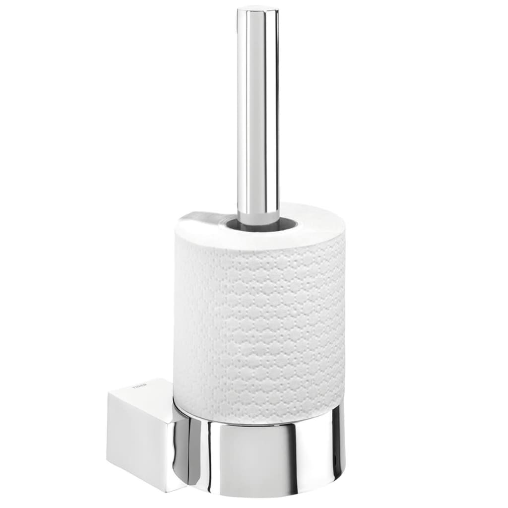 Vidaxl Co Uk Tiger Spare Toilet Roll Holder Nomad Chrome