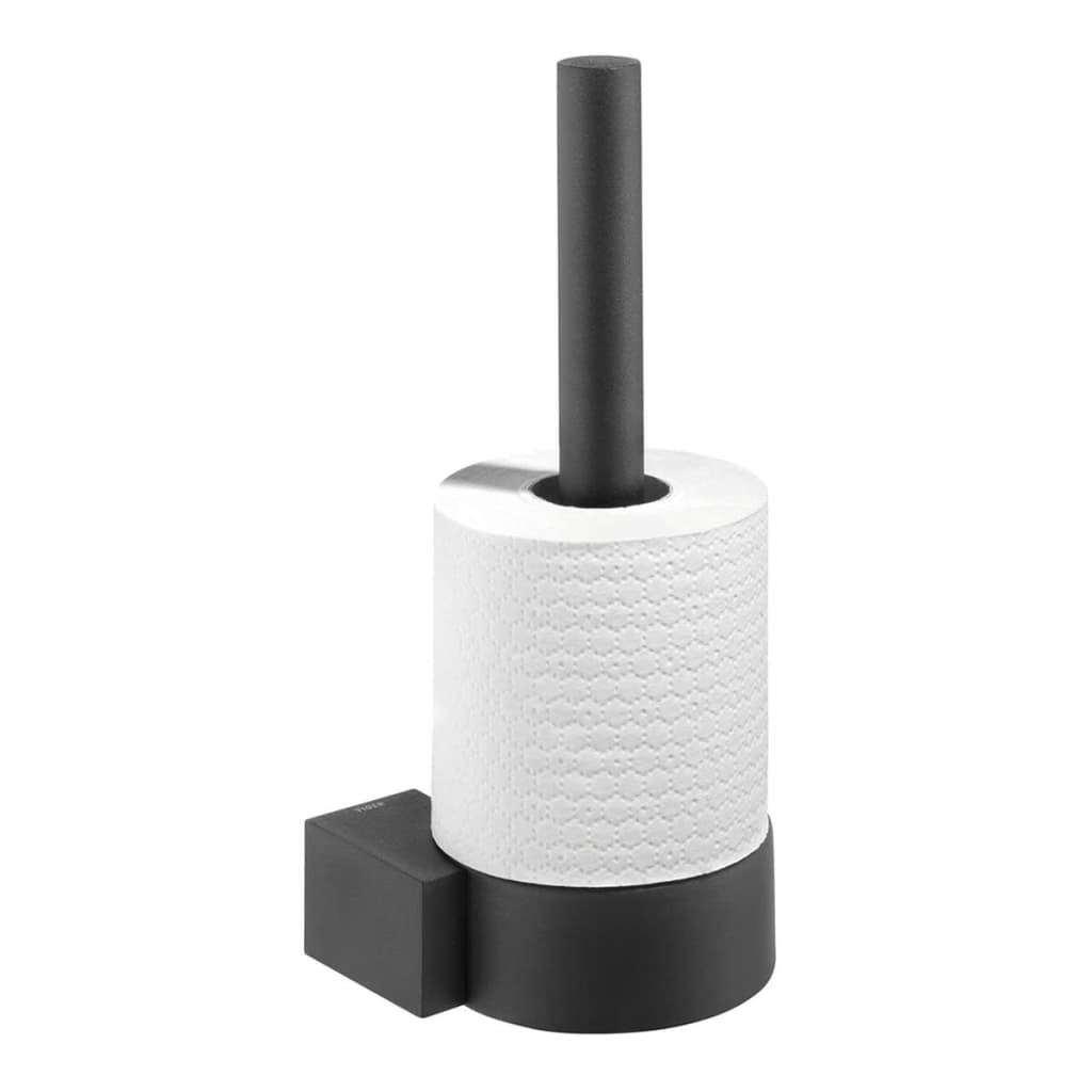 Acheter tiger porte papier toilette de r serve nomad noir 247930746 pas cher - Porte papier toilette noir ...