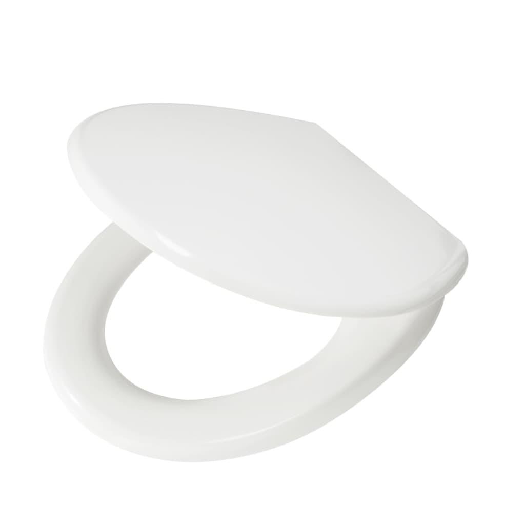 Tapa de inodoro blanca de duroplast marca tiger eton for Tapa para inodoro
