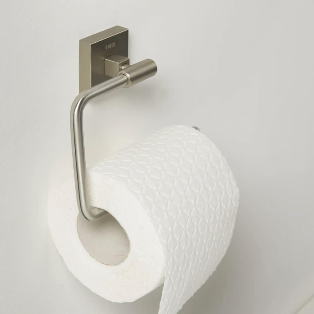 Tiger Toilet Roll Holder Melbourne Silver