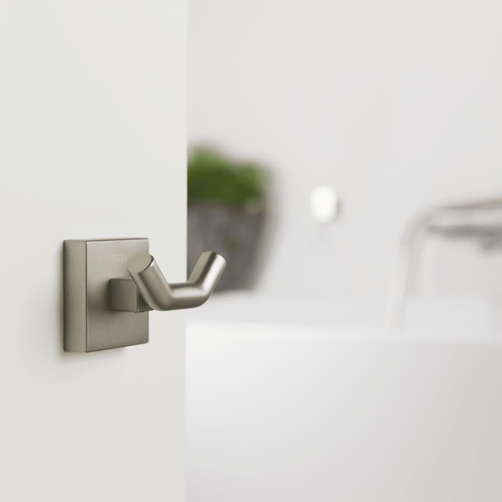 Tiger gancio asciugamani melbourne argento 274630946 - Tiger accessori bagno ...