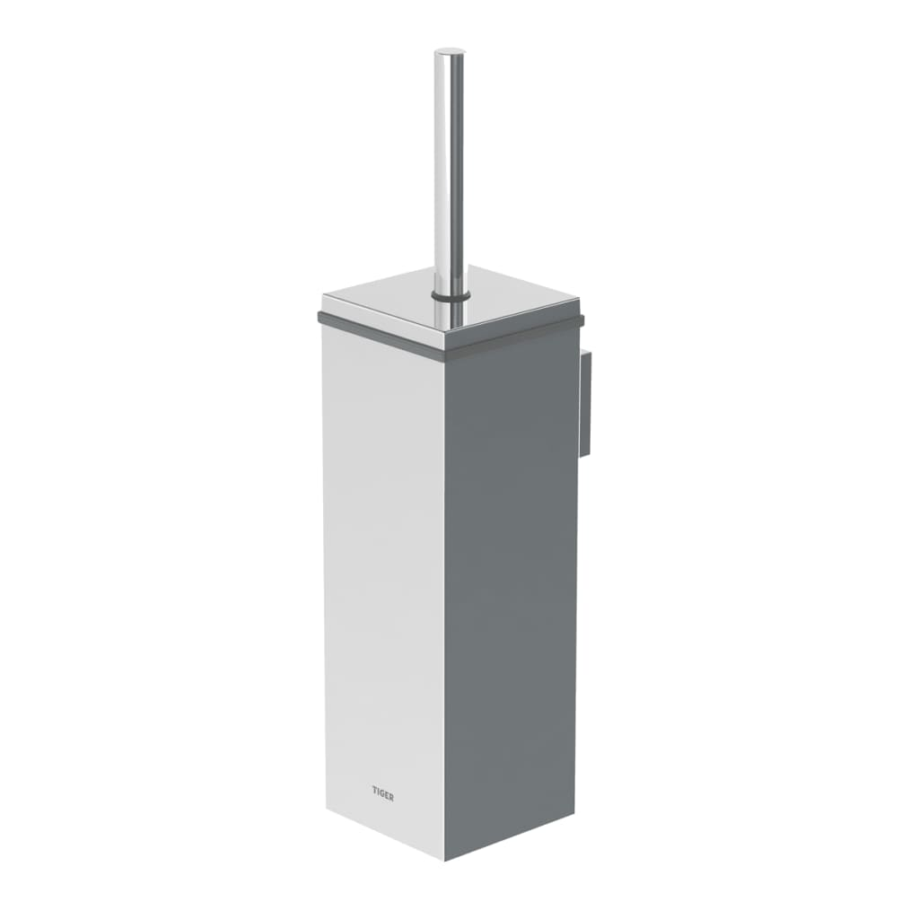 acheter brosse de toilette avec support tiger chrome 282430346 pas cher. Black Bedroom Furniture Sets. Home Design Ideas