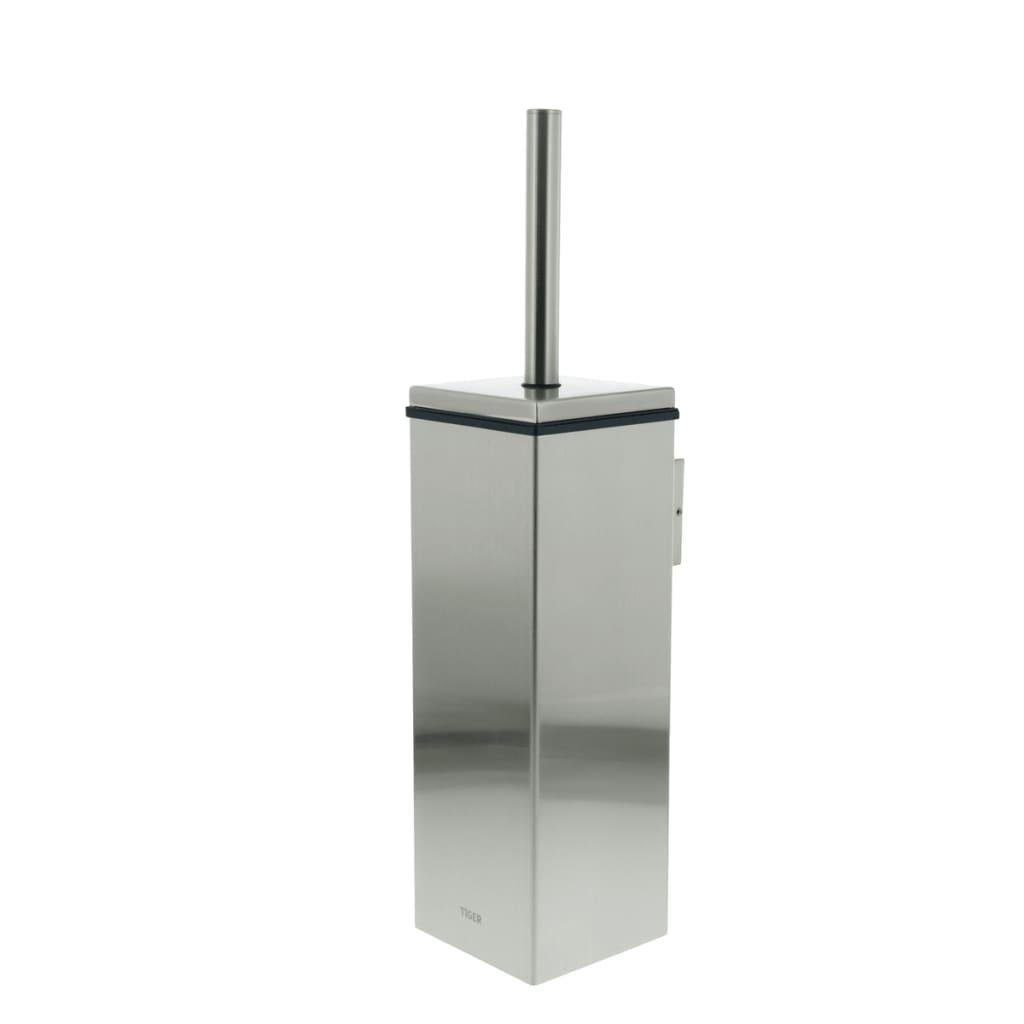 Afbeelding van Tiger Toiletborstel en houder Items zilver 282430946