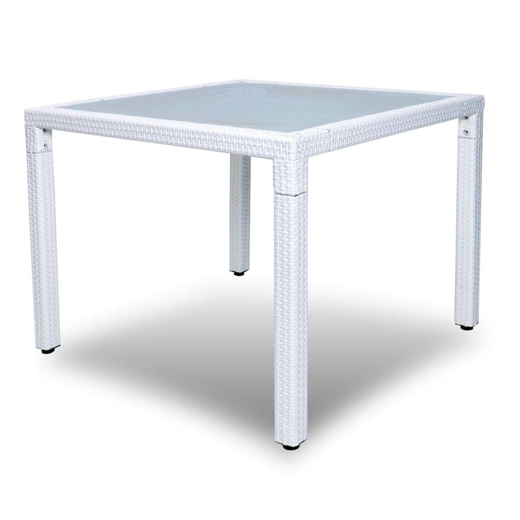 Acheter vidaxl meuble de jardin 1 table et 4 chaises for Table 4 en 1 intersport