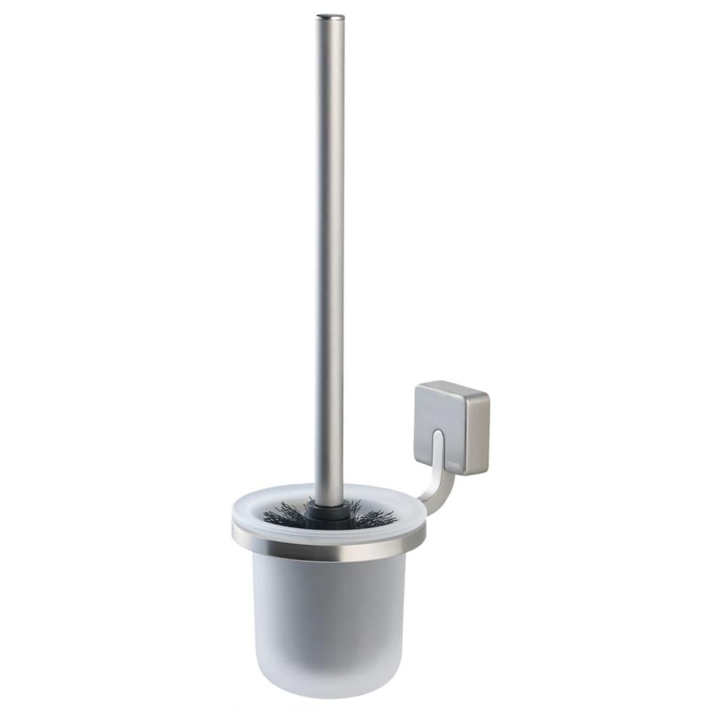 Afbeelding van Tiger Toiletborstel en -houder Impuls zilver 387530946