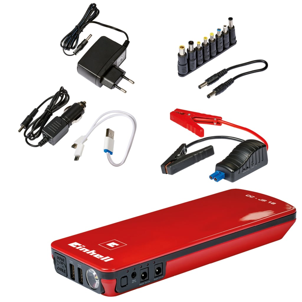 Einhell CC-JS 18 1091530 akkumulátortöltő és indításrásegítő 18000 mAh