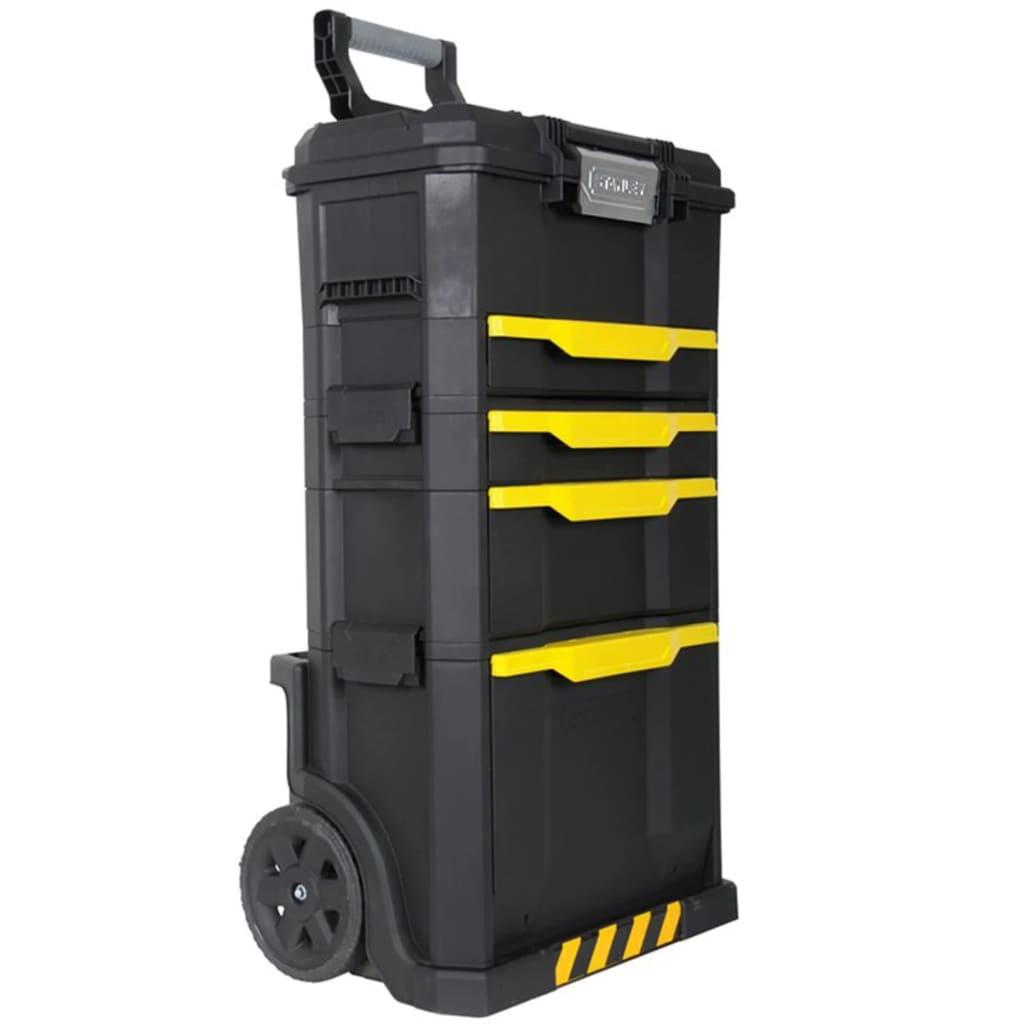 Stanley 1-79-206 kerekes műanyag szerszámtároló fekete