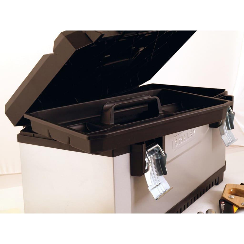 stanley fatmax toolbox plastic 1 95 616. Black Bedroom Furniture Sets. Home Design Ideas