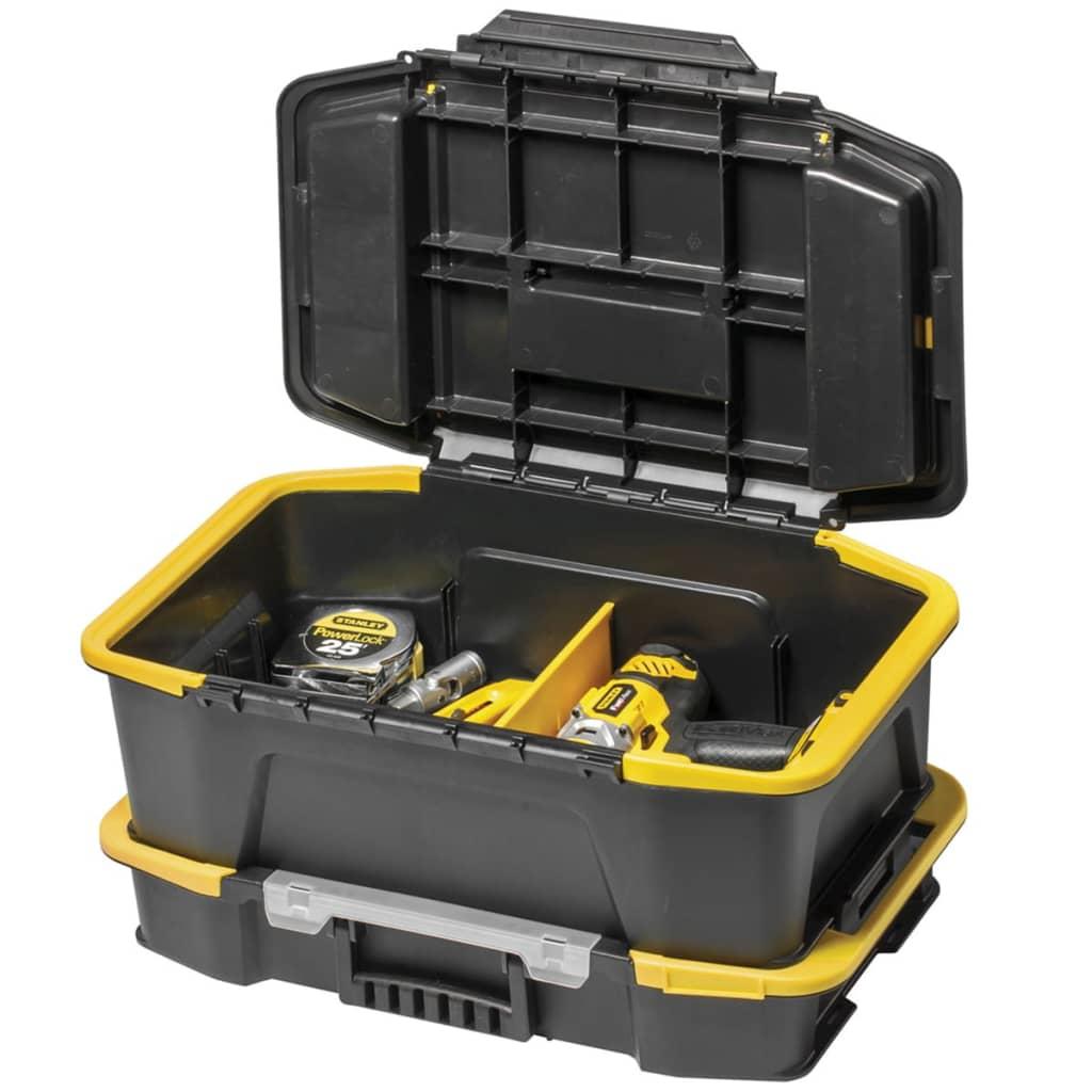 Stanley caja de herramientas profunda click connect - Caja de herramientas stanley ...