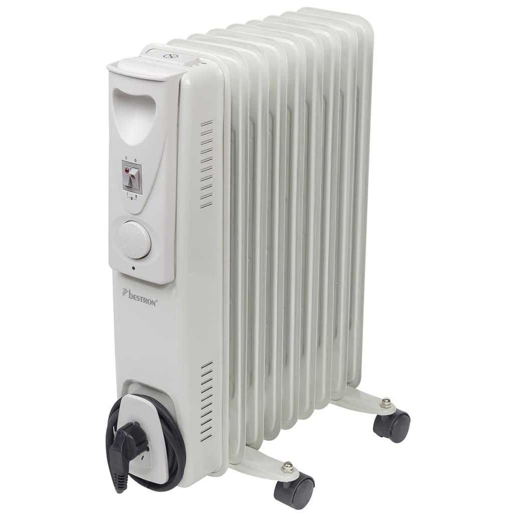 Afbeelding van Bestron Oliegevulde radiator 9 vinnen 800/1200/2000 W op wielen ARA9