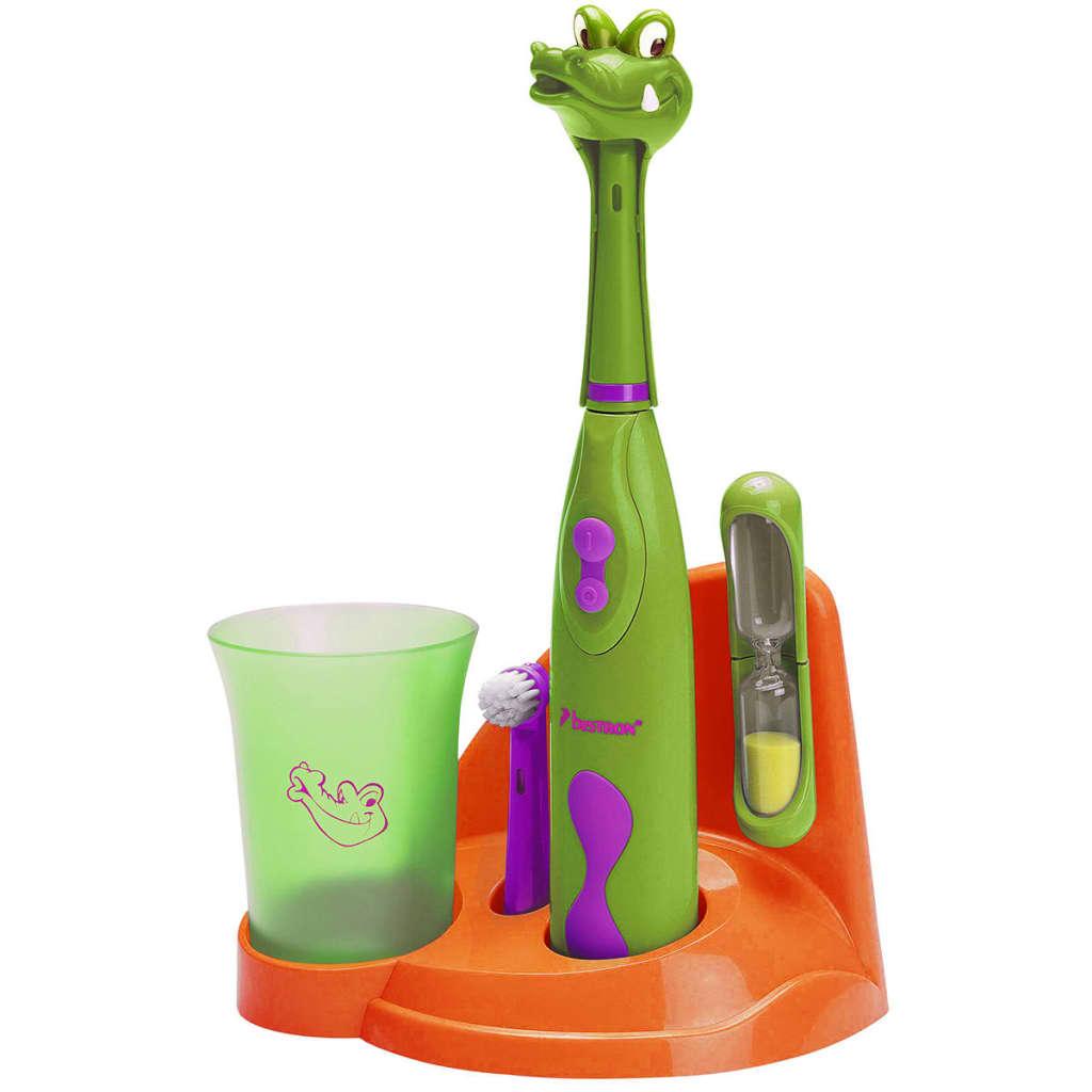 Bestron DSA3500A gyerek fogkefe készlet krokodil