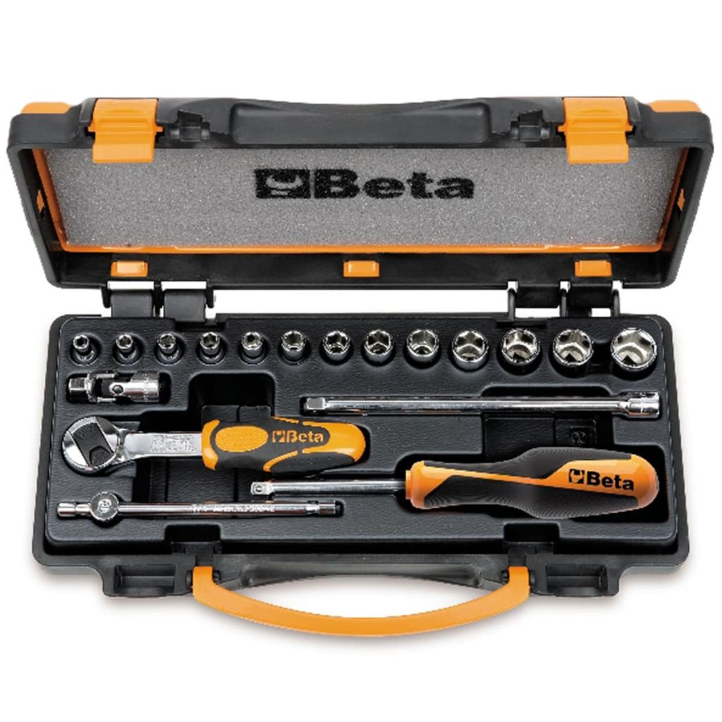 Beta Tools 18 pièces de cliquets et douilles 900/C13-5 009000953