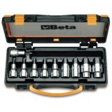 Beta Tools set llaves de vaso macho 10 unidades de acero 920PE/C10 009200443