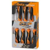 Beta Tools tournevis 1267TX/D7 en acier 7 pcs 012670307