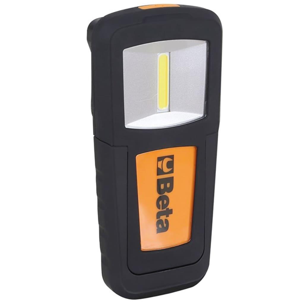 Beta Tools lampe d'inspection LED 1838COB 018380010 Cette lampe d'inspection rechargeable Beta Tools 1838COB, avec LED utltra brillant est un produit