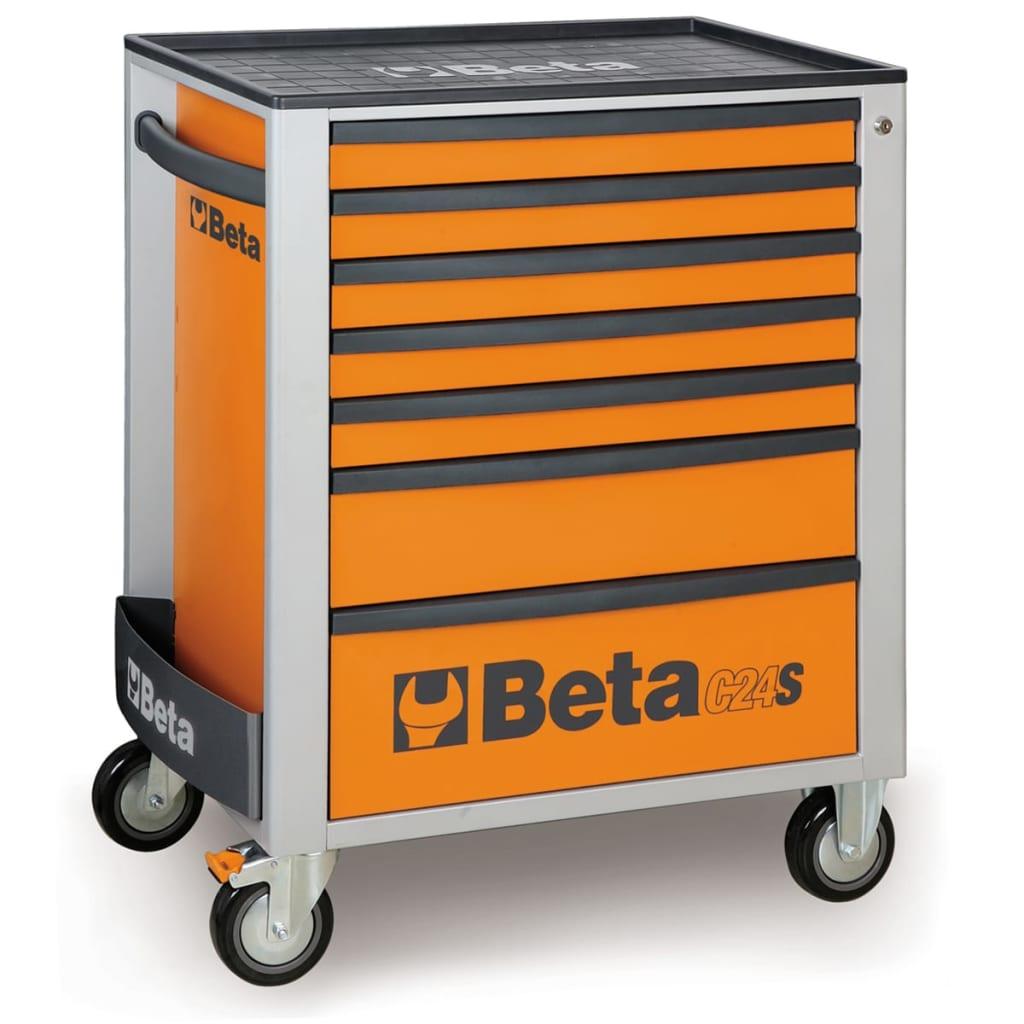 Afbeelding van Beta Tools Gereedschapwagen C24S 7/O staal