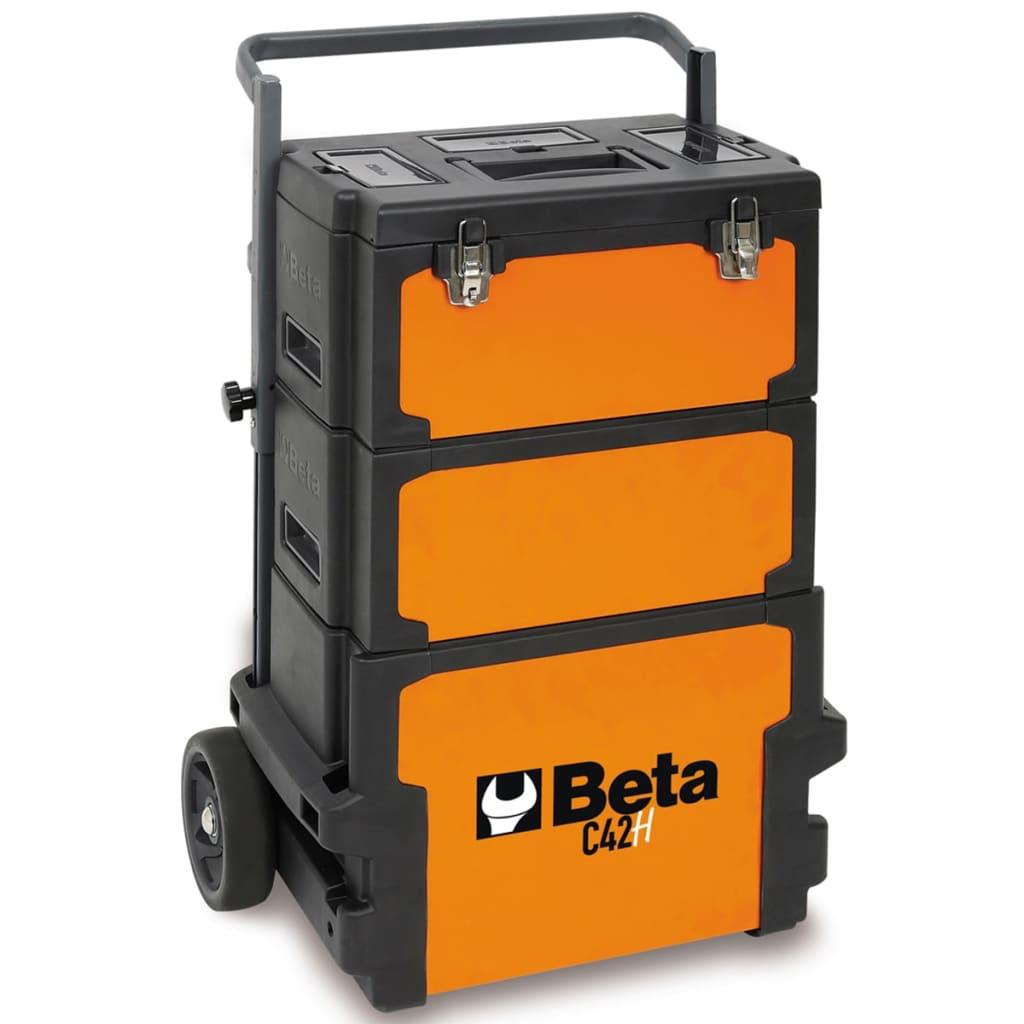 Beta tools caja de herramientas con ruedas c42h naranja - Cajas para herramientas con ruedas ...