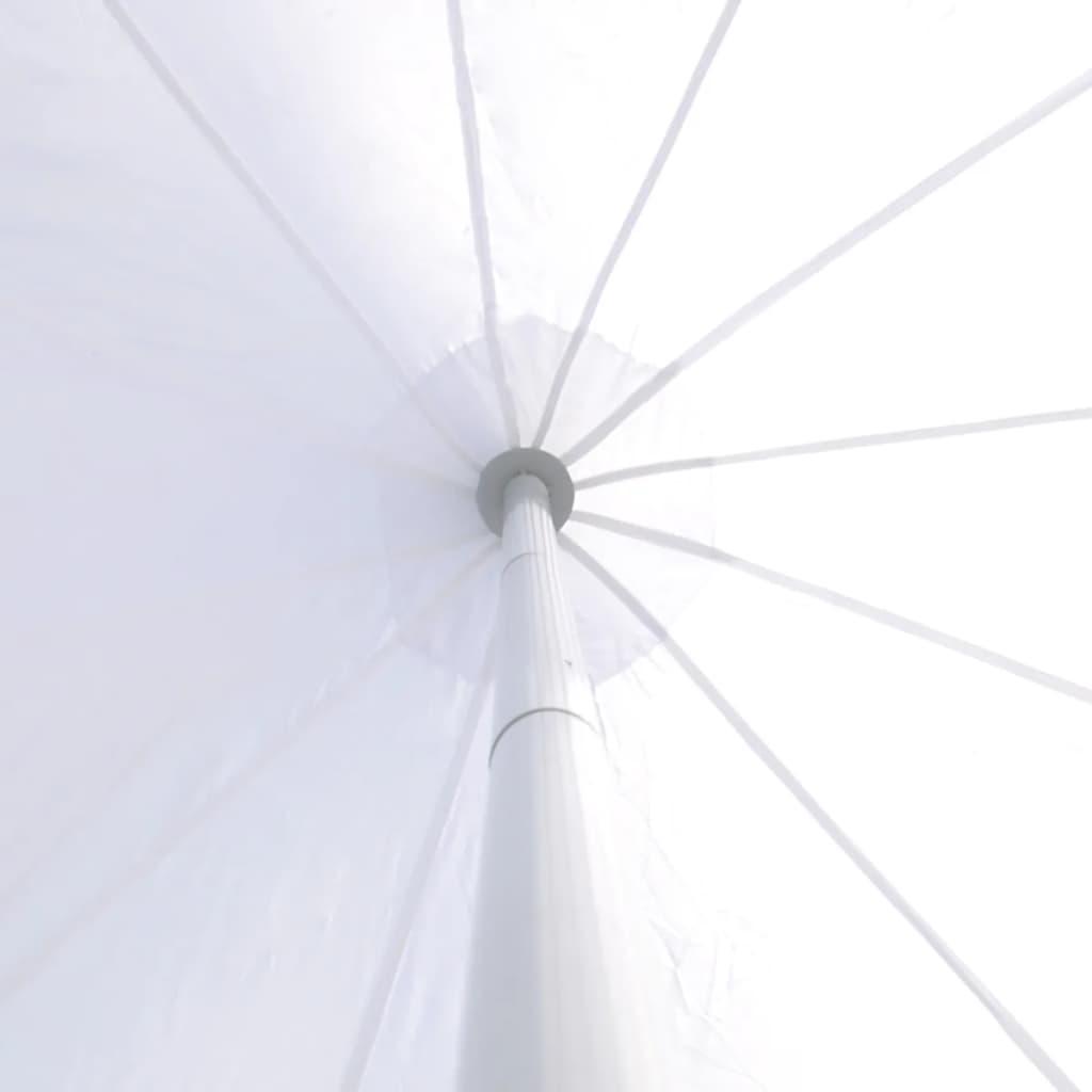 Tente-de-jardin-en-forme-d-039-etoile-14-m-protection-optimale-facile-a-monter-Blanc