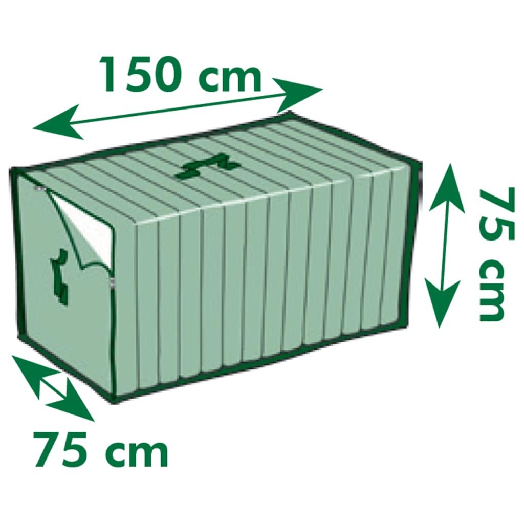 acheter nature housse de coussin pour mobilier de jardin 150x75x75 cm 6031607 pas cher. Black Bedroom Furniture Sets. Home Design Ideas