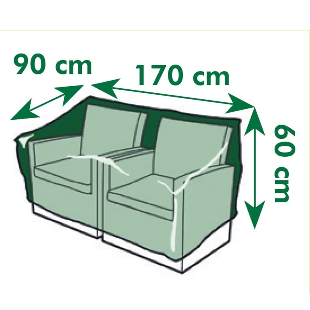 Acheter nature housse pour chaise de jardin pe 170x90x60 for Housse de chaise largeur 50 cm