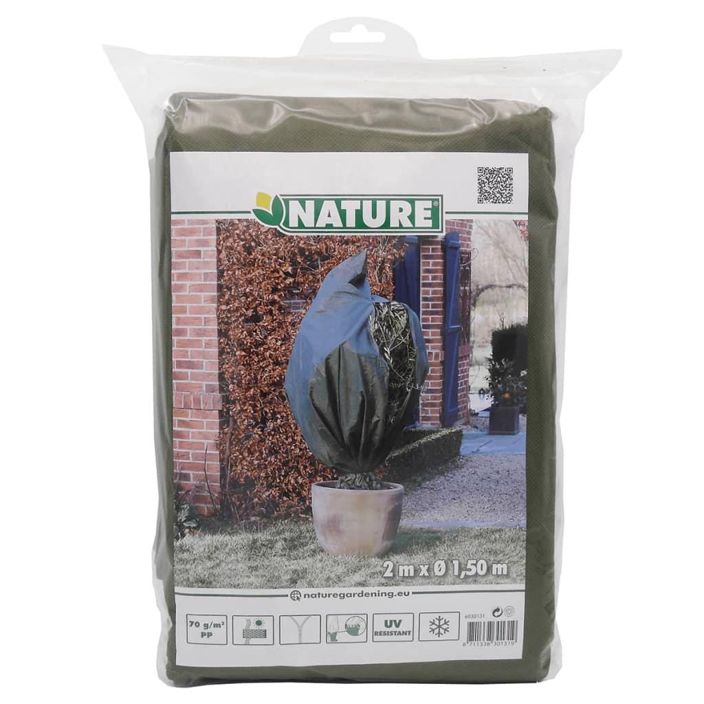 Afbeelding van Nature afdekhoes voor planten vliesdoek groen 1,5 x 2 m 6030131