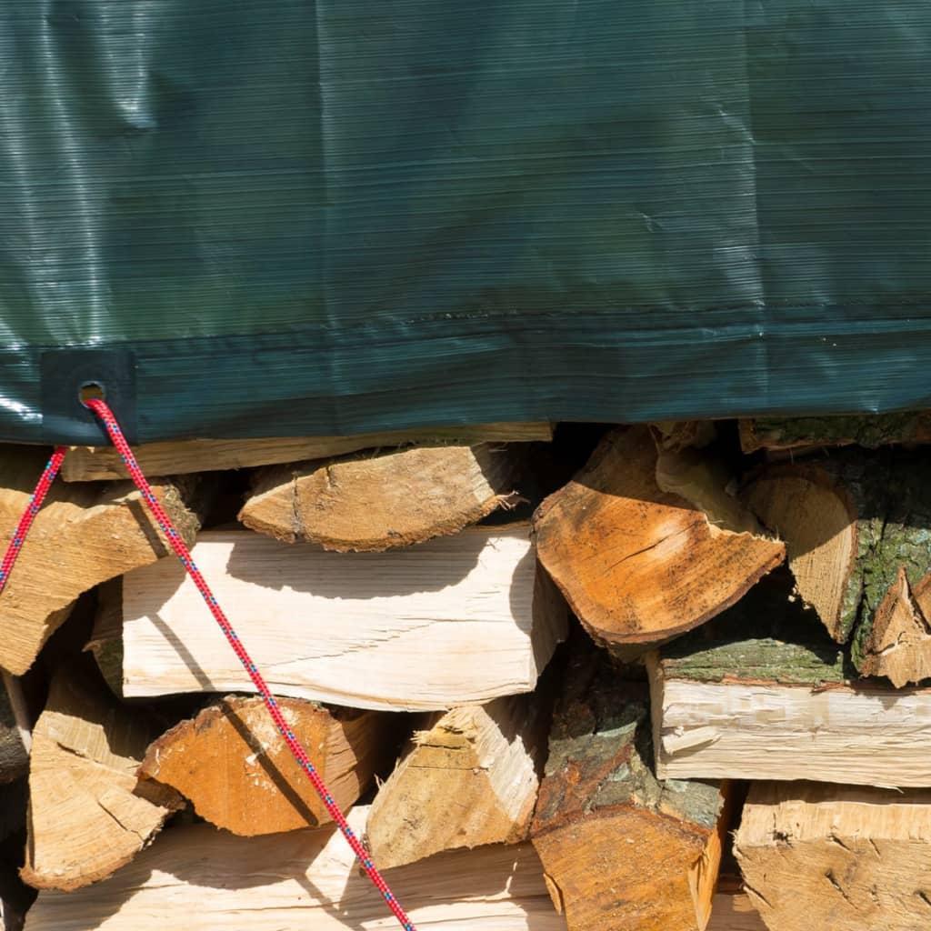 Nature afdekzeil hout 5 x 6 m pe groen 6072420 online for Afdekzeil action