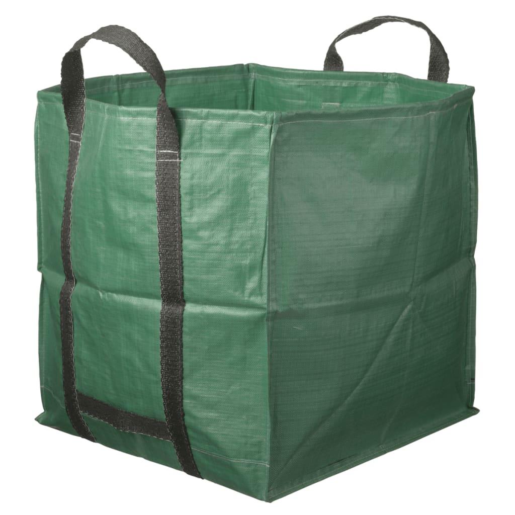 Afbeelding van Nature afvalzak multifunctioneel vierkant groen 252 L 6072405