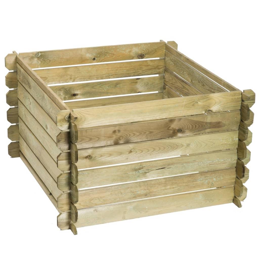 der nature kompostbeh lter holz 650 l 6070480 online shop. Black Bedroom Furniture Sets. Home Design Ideas