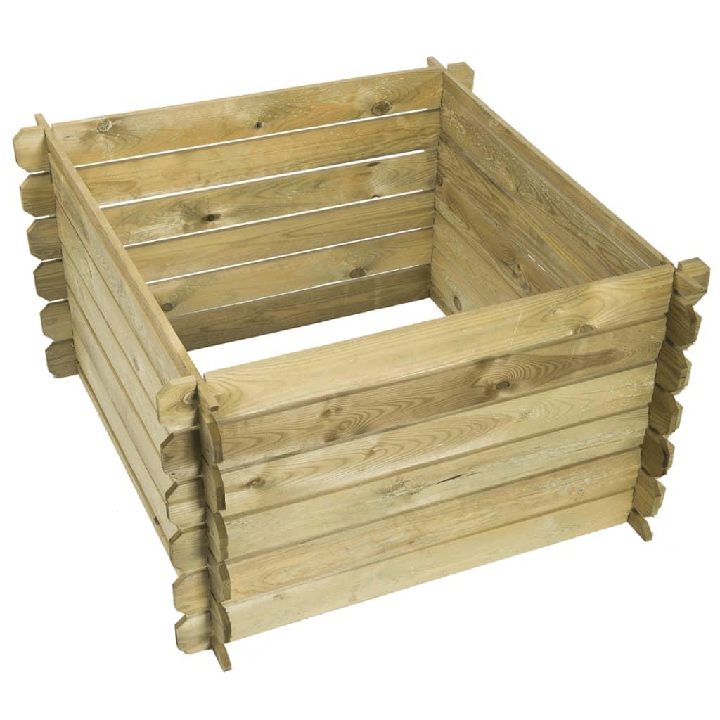 Afbeelding van Nature Compostbak hout 650 L