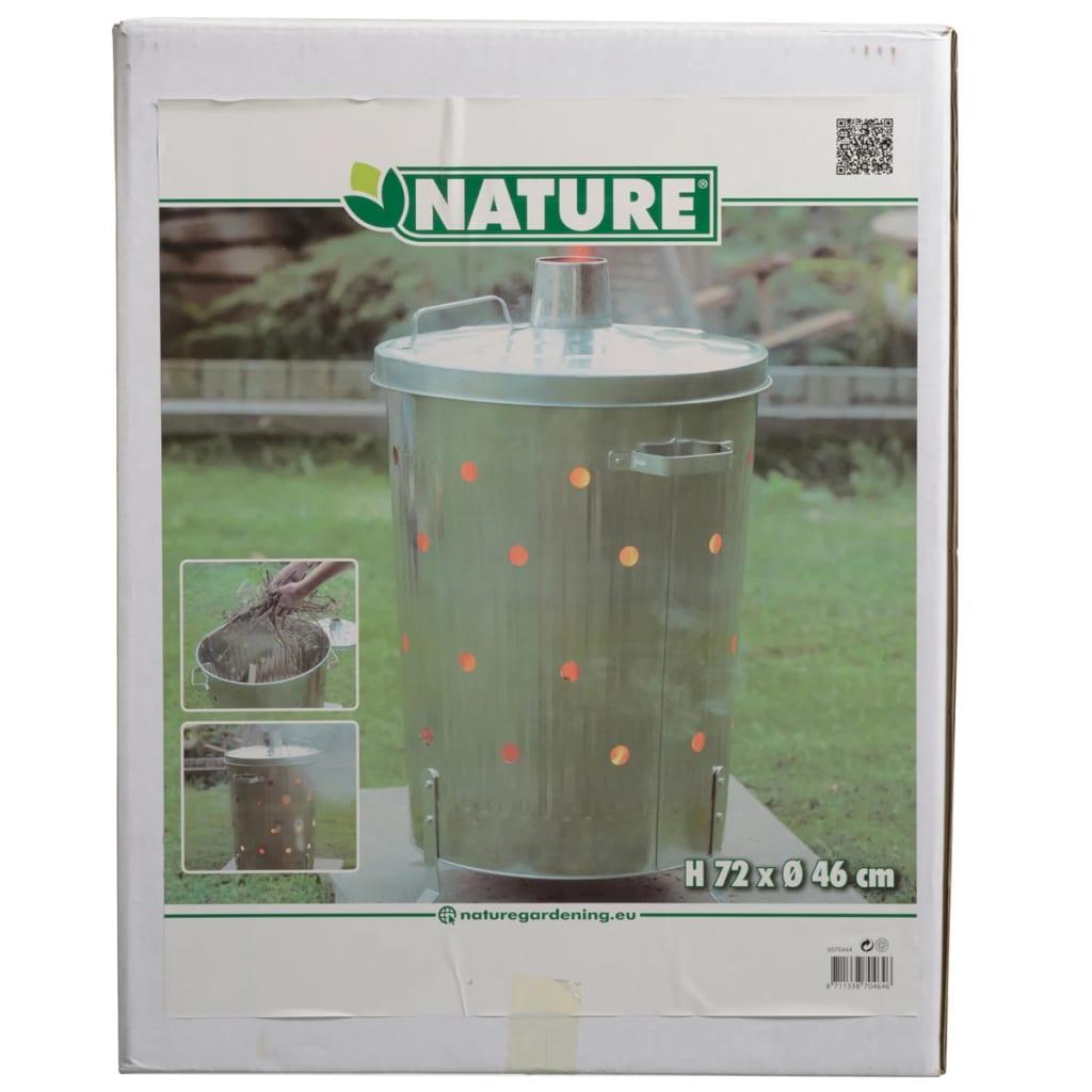 Nature-Incinerador-de-Jardin-de-Material-Acero-Galvanizado-Medidas-46x72-cm