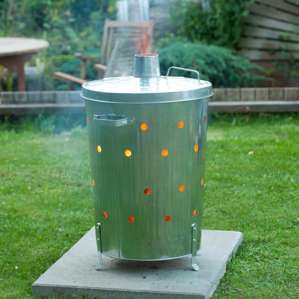 Acheter nature incin rateur pour jardin acier galvanis 46 for Bordurette acier pour jardin