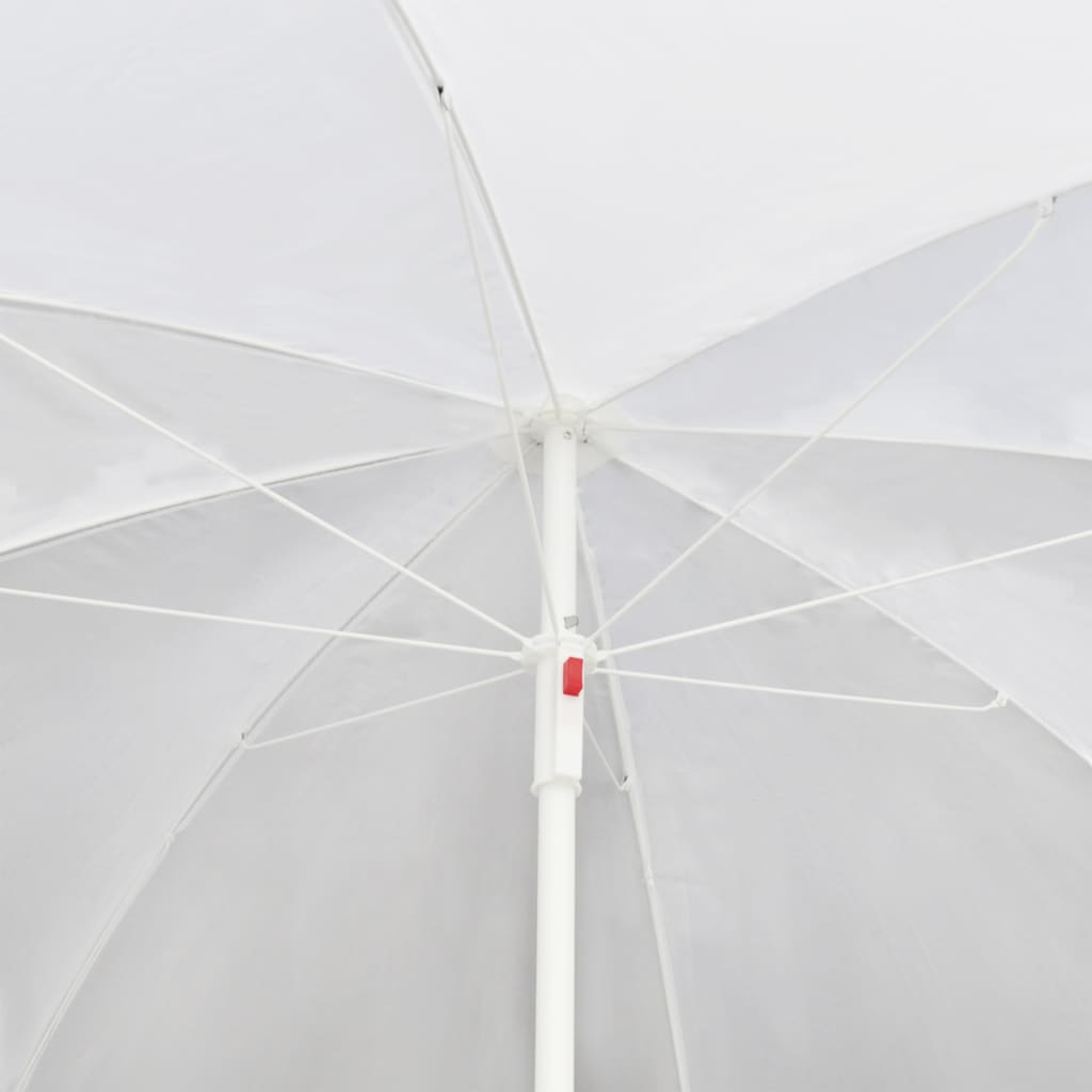 brown garden poly rattan lounge set with parasol outdoor. Black Bedroom Furniture Sets. Home Design Ideas