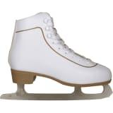 Nijdam Women's Figure Skates Classic Leather Size 40 0043-WIT-40