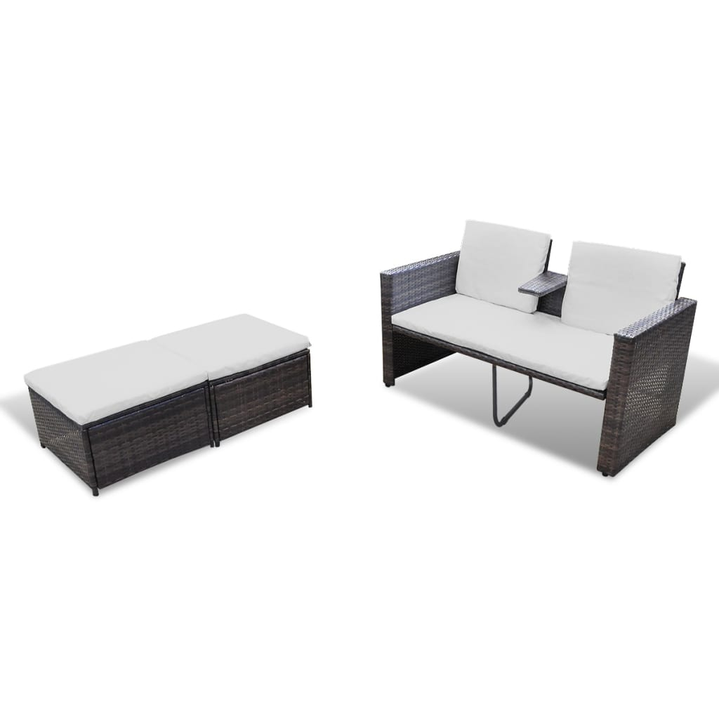 la boutique en ligne canap de 2 places et 2 repose pieds. Black Bedroom Furniture Sets. Home Design Ideas