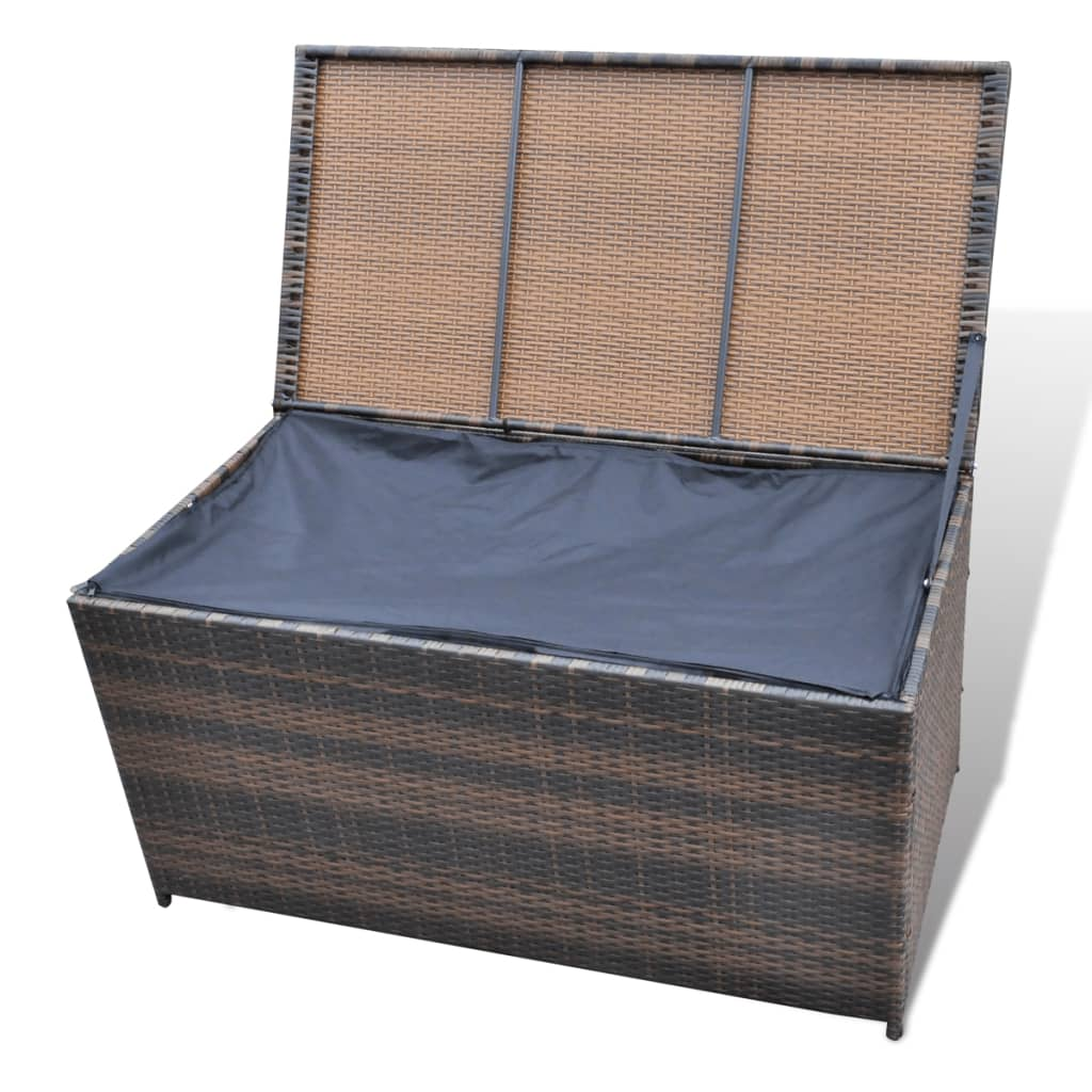rattan truhe aufbewahrungsbox rattankasten braun 116 x 60 x 60 cm g nstig kaufen. Black Bedroom Furniture Sets. Home Design Ideas