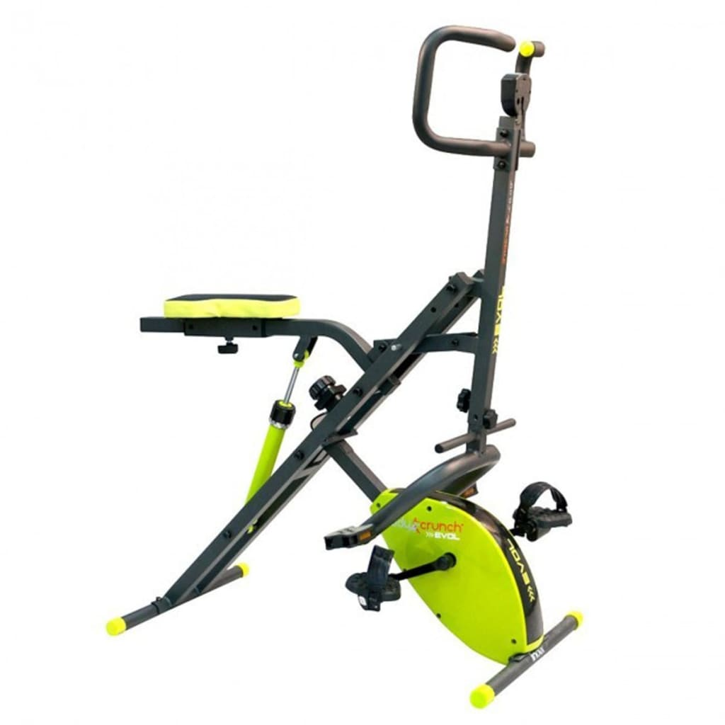 Inova Cyclette elittica Body Crunch Evolution verde BOC001