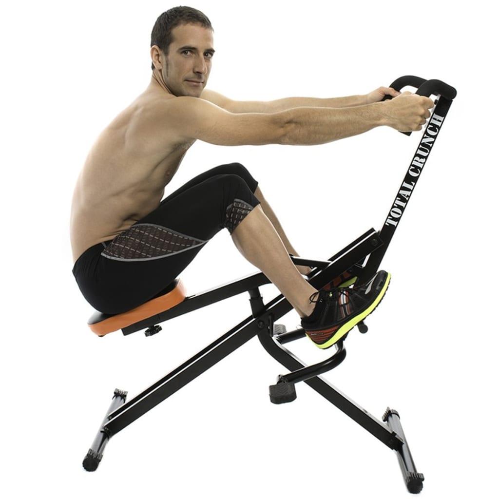 Total Crunch Cardio Fitness Machine Black Metal TOC001 ...