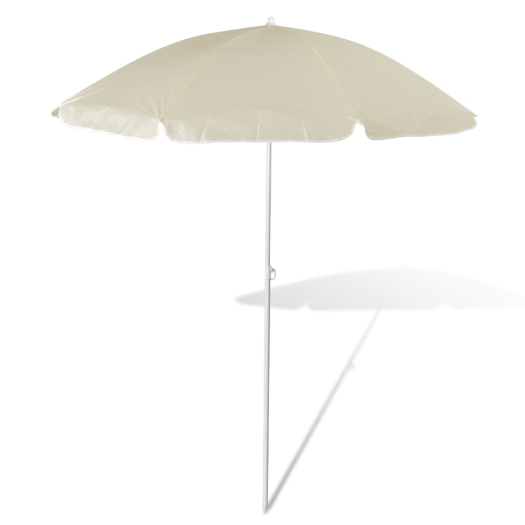 acheter 180 cm parasol de plage jaune de sable pas cher. Black Bedroom Furniture Sets. Home Design Ideas