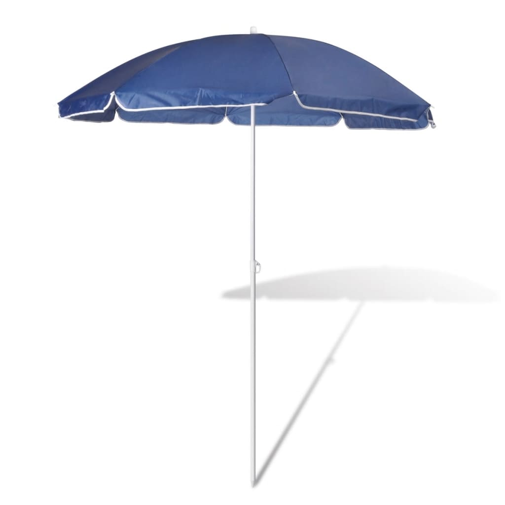 la boutique en ligne 180cm parasol de plage bleu. Black Bedroom Furniture Sets. Home Design Ideas